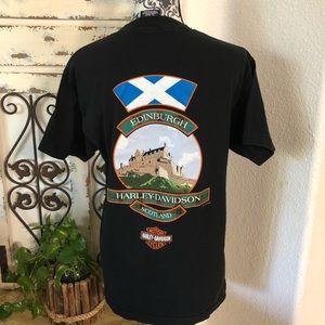 Harley-Davidson Shirts - Harley Davidson Scotland tee shirt